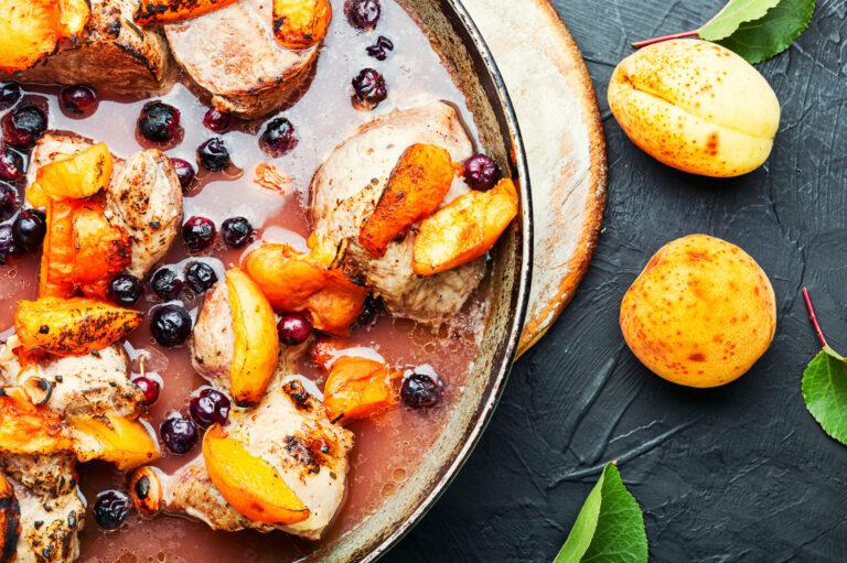 Recette porc à l'abricot