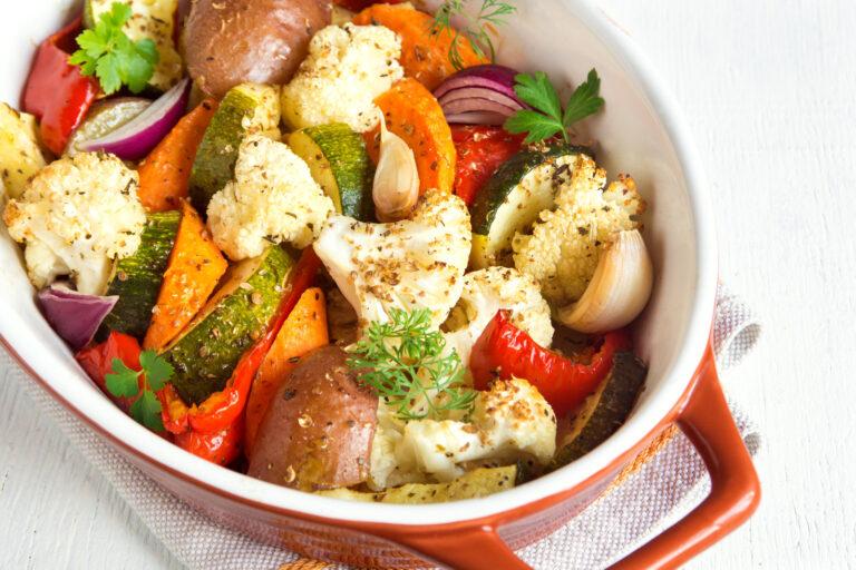 Recette légumes d'automne cuits au four